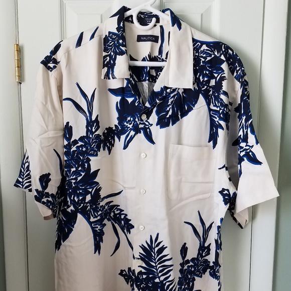 Nautica Other - Nautica silk shirt